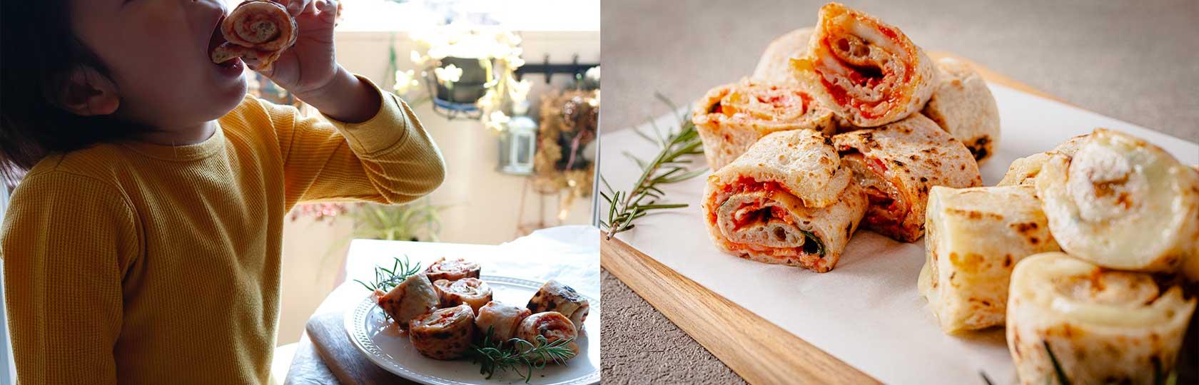 冷凍バトンピッツァは、ピザ職人が、自分の子供たちのため、自宅用に保存を考えたピッツァ