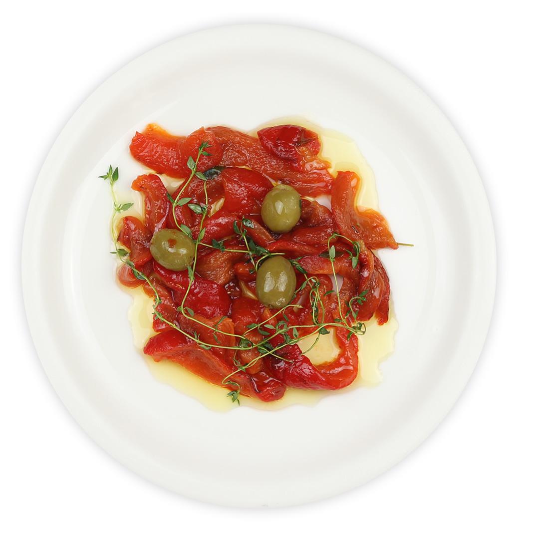 赤パプリカのマリネ(125g) | イタリア市場チェントロメルカート