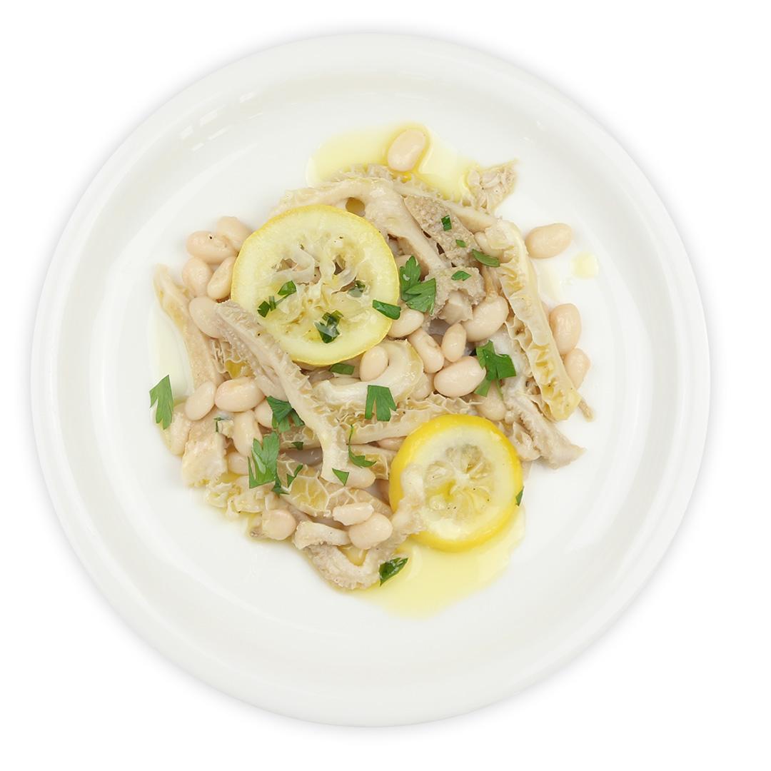 トリッパと白インゲン豆のインサラータレモン風味(140g) | イタリア市場チェントロメルカート